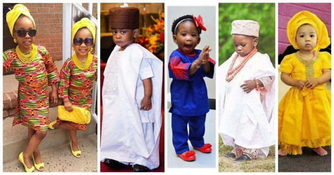 traditional wedding attires for kids amillionstyles 2016