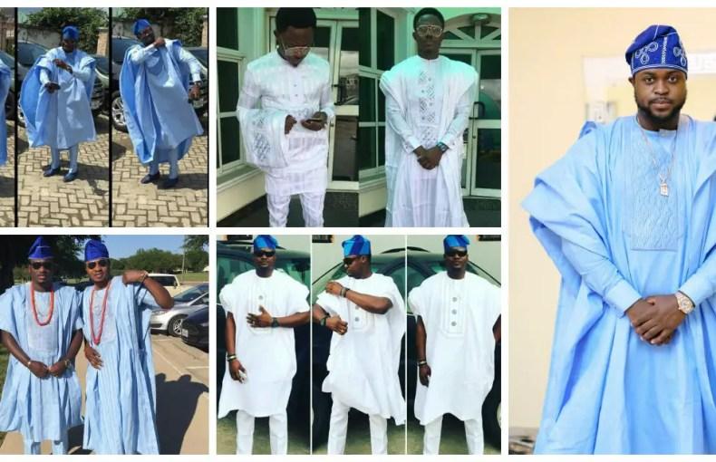 Yoruba Demon Outstanding Agbada Styles
