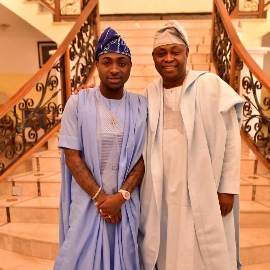outstanding agbada styles yoruba demons @davidoofficial
