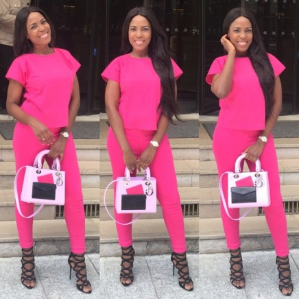 Woman Crush Wednesday: Best Of Linda Ikeji In Jumpsuit.