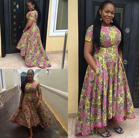 Latest full gown ankara styles we love a million for Current wedding dress styles