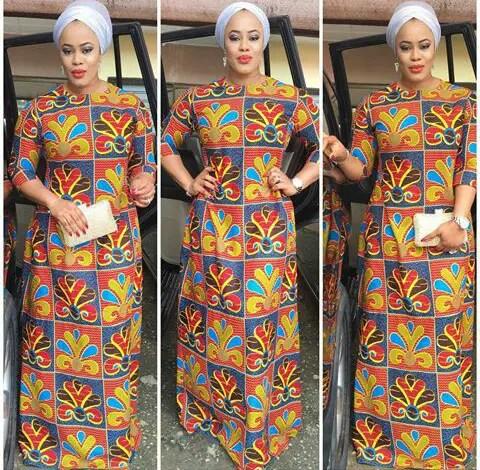 Latest Full Gown Ankara Styles amillionstyles.com @houseofborah