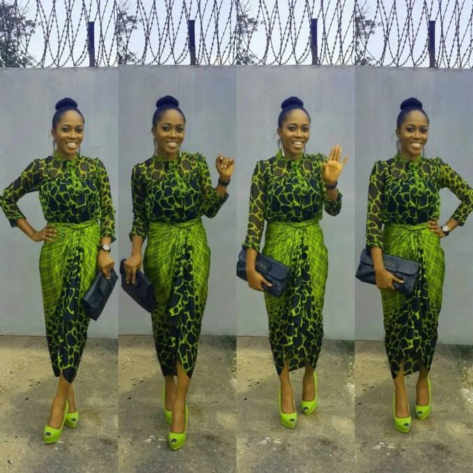 Amazing Church Outfit amillionstyles @yomisummerhues