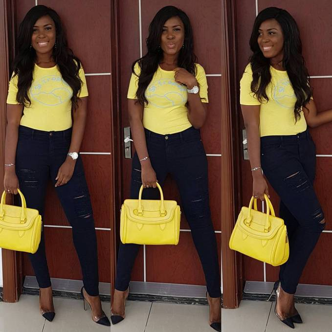 Awesome Way To Rock Your Casual Outfits To Work - This Week @officiallindaikeji