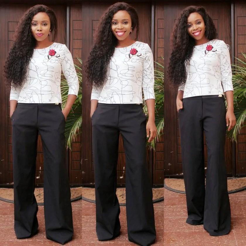 stylish pant trousers @mizwanneka