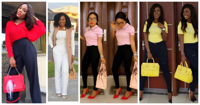 Awesome Way To Rock Your Casual Outfits To Work - This Week Amillionstyles.com cover