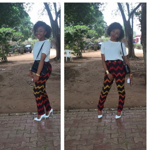Chiffon, Jacket and Tops Slayed With Ankara Pants amillionstyles.com @a.d.a_by_ada