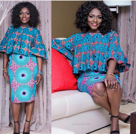 Superb Ankara Styles That Will Wow You - Amillionstyles @dentaa_show