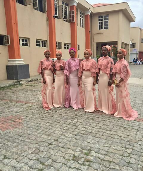Beautiful Bridesmaid Gown @mz_freshness