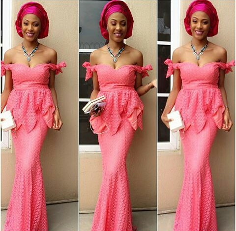 Fashionistas Rocking Latest Aso Ebi Styles @glorynina
