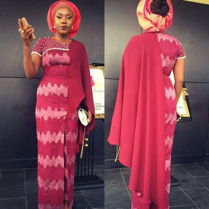 Sophisticated Nigerian Aso Ebi Styles - Amillionstyles @ejeoma