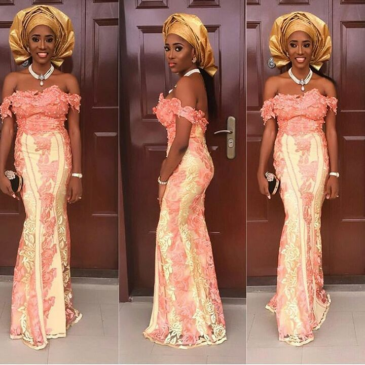 Sophisticated Nigerian Aso Ebi Styles - Amillionstyles @kanyinalakija_