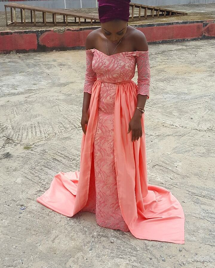 Sophisticated Nigerian Aso Ebi Styles - Amillionstyles @serahkassim