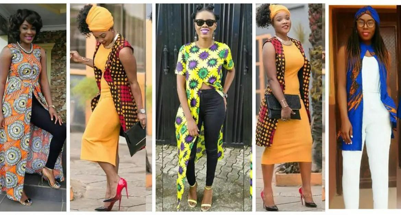 Fabulous Ankara Kimono Jacket amillionstyles