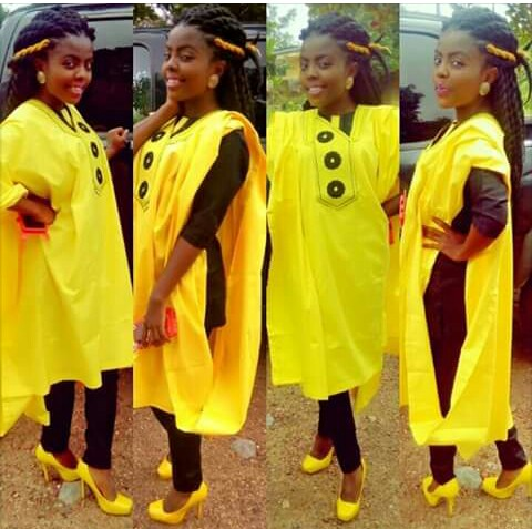Amazing Agbada and Atiku style for ladies amillionstyles @raimiomobanke
