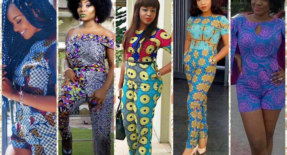 11 Ankara Styles In Playsuit And Jumpsuit A Million Styles Africa