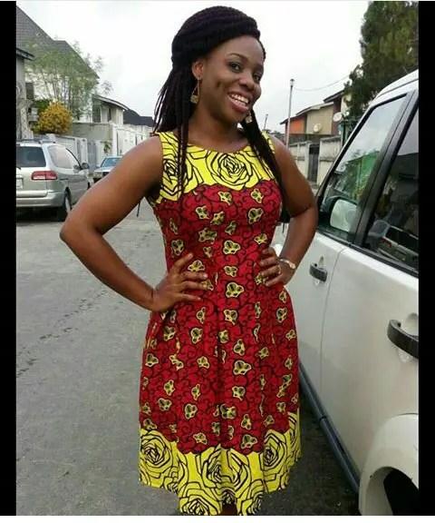 Classy Ankara Dresses - amillionstyles @dizibaexotictreats