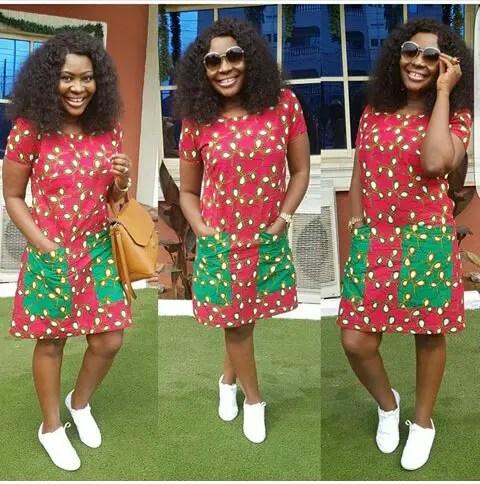 Classy Ankara Dresses - amillionstyles @stylebyoma