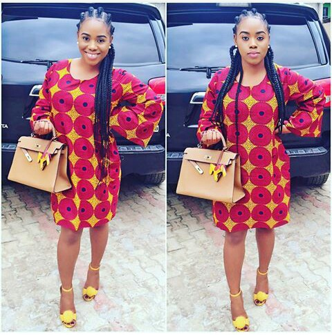 Classy Ankara Dresses - amillionstyles @voguewithchad