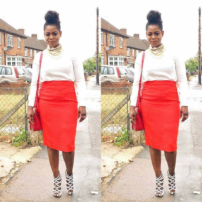 11 Colorful Church Outfit - Amillionstyles.com @debbiefashstyle