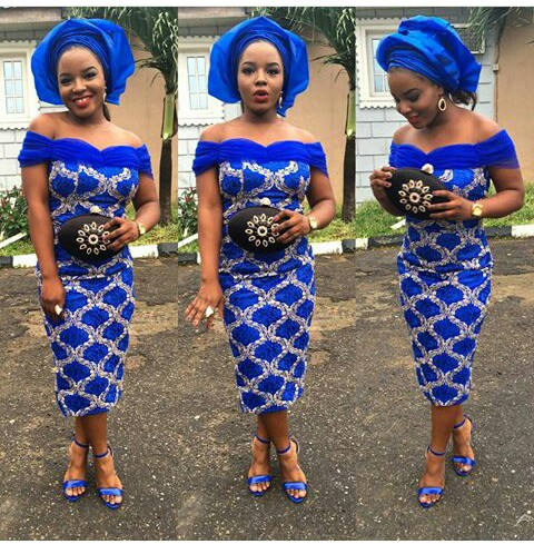 Latest Lace And Ankara Aso Ebi Styles amillionstyles @dupseyy