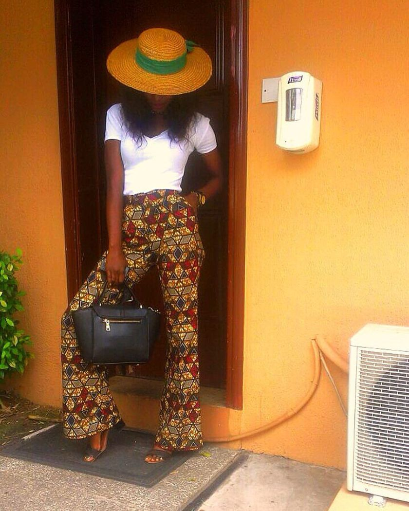 Colorful Ankara Pant amillionstyles.com @mdu_clothings