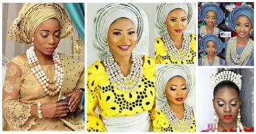 10 Lovely Traditional Bridal Makeup Looks amillionstyles