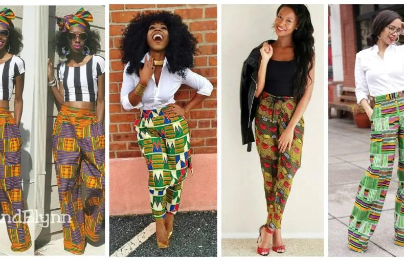 Colorful Ankara Pant amillionstyles.com cover