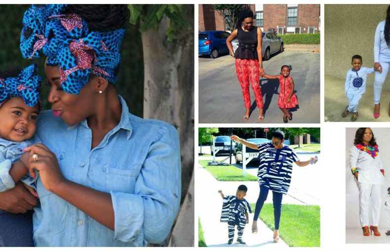 Stylish Mother And Daugther/Son Outfits amillionstyles.com cover