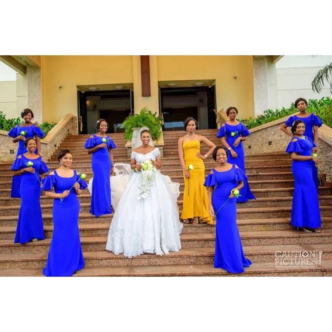 Delectable Bride And Bridesmaid Outfit 2016 amillionstyles @bisolatrendybee