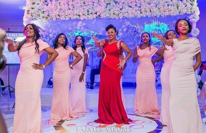 Delectable Bride And Bridesmaid Outfit 2016 amillionstyles