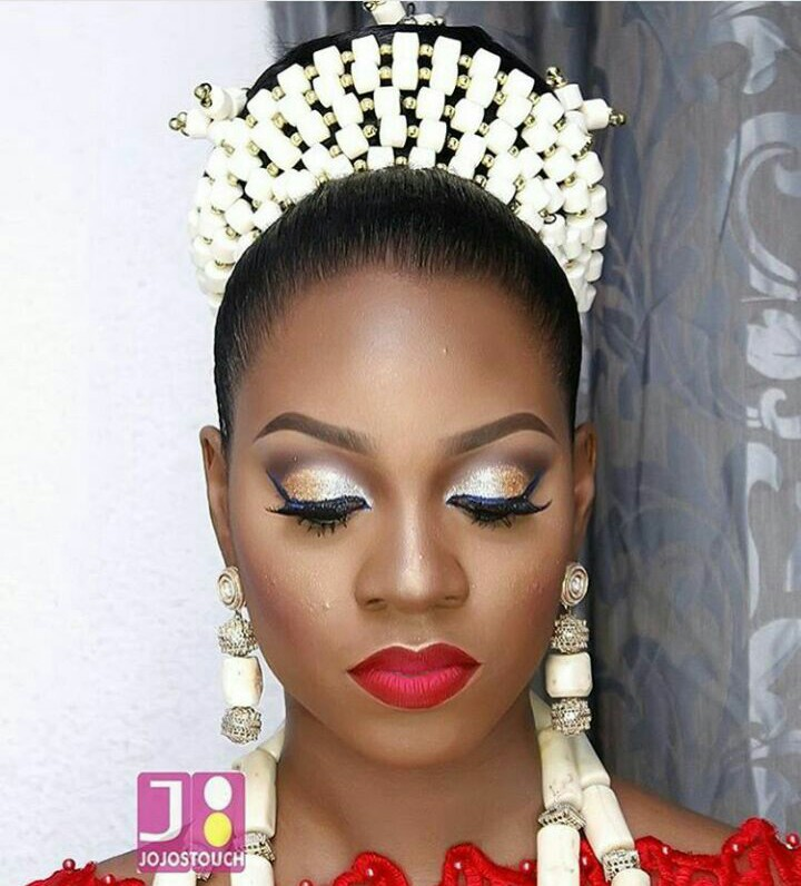 Traditional Bridal Makeup Looks : 10 Lovely Traditional Bridal Makeup Looks Amillionstyles.com