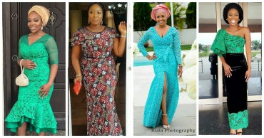 Fab Head Turning Aso Ebi Styles From The weekend