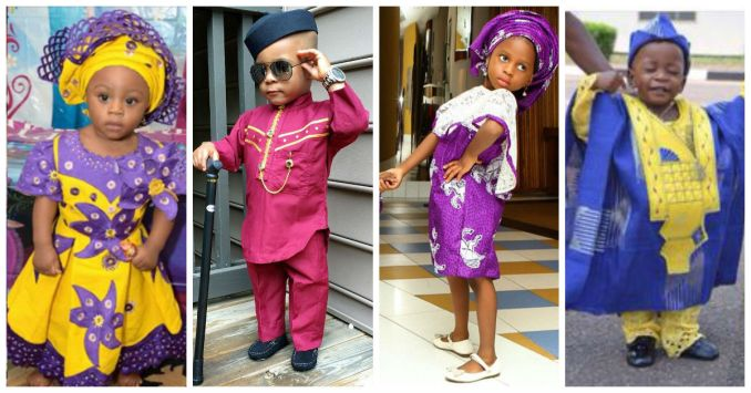 Kids Fashion: Ankara
