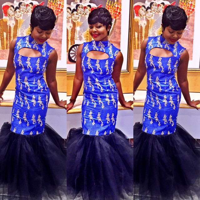Beautiful Blue Aso Ebi Colour Trending This Month.