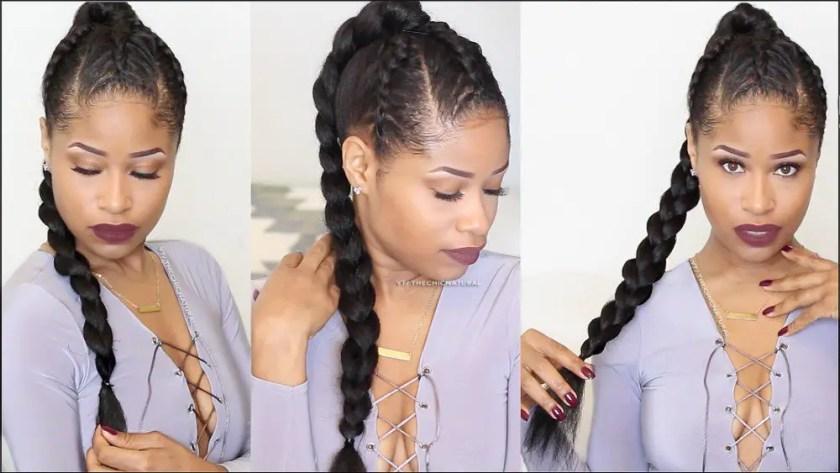 Hair Video: Recreate the Triple Braid Warrior Plait Updo