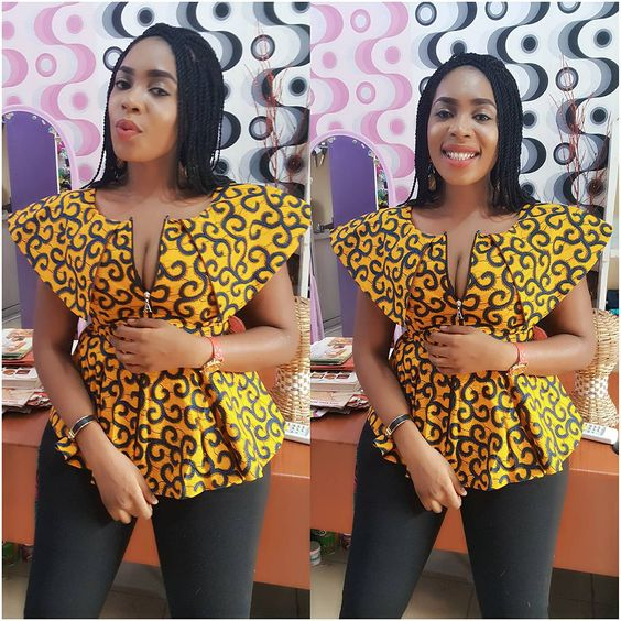 More Beautiful Ankara Tops You Can Sew A Million Styles Africa