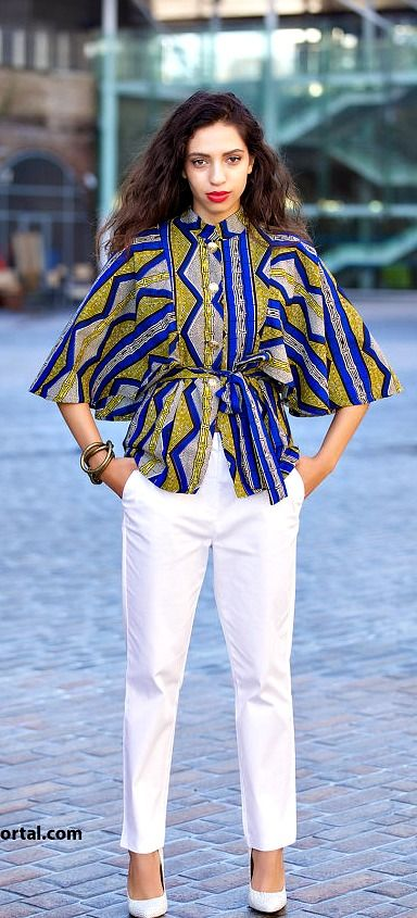 More Beautiful Ankara Tops You Can Sew A Million Styles