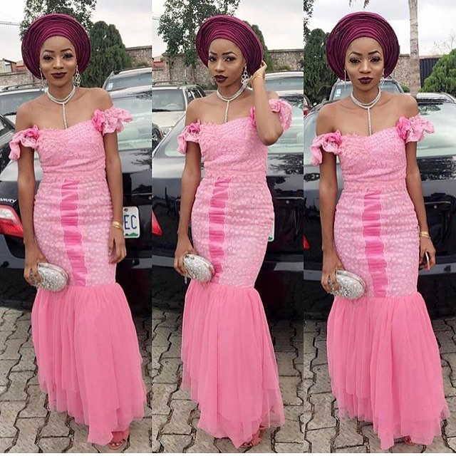 Stunning Is Best Used To Describe These Latest Aso Ebi Styles