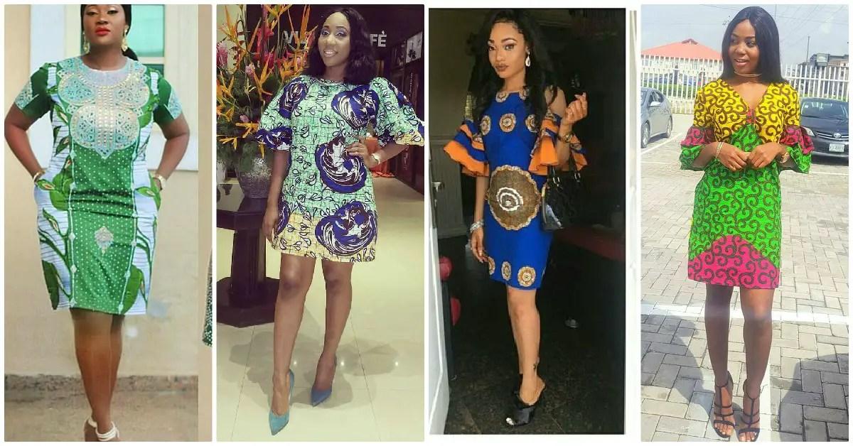 Knee Length Ankara Styles Trending Amongst The Divas