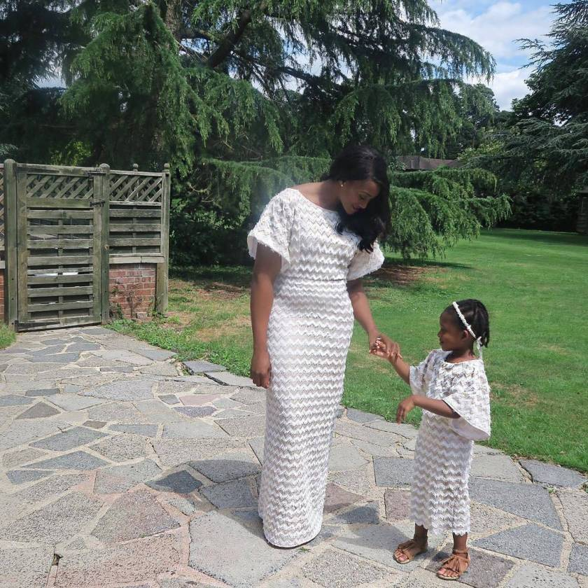 Check Out This Cute Mummy And Me Attires Seen One The Gram