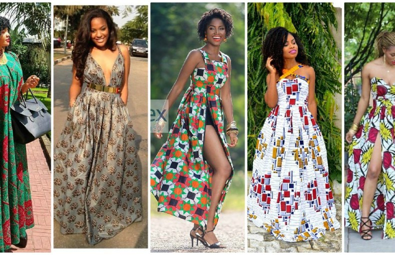 Contemporary Ankara Maxi Dresses The Fabulous Ladies Are Rocking These Days