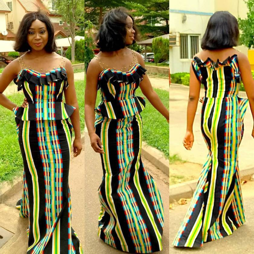 Keeping The Ankara Styles Simple And Sweet
