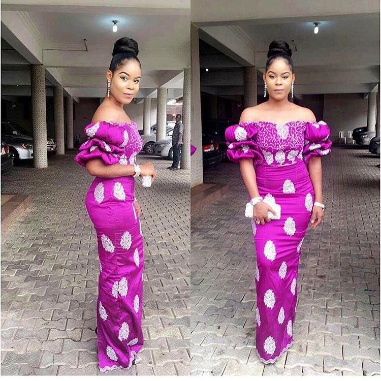 Keeping You Abreast of the Sexiest Asoebi Styles