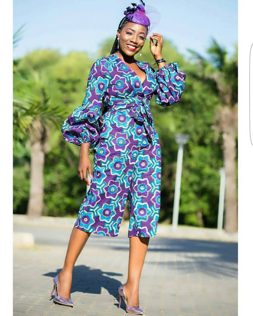 Here Are The Sweetest 2017 Short Ankara Gowns!
