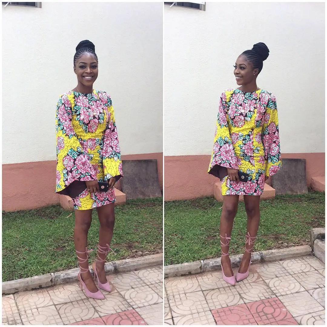 Here Sweetest Short Ankara Gowns