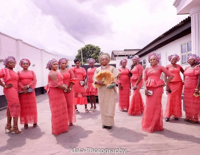 These Bride's Friends Latest Asoebi Styles Are On Point