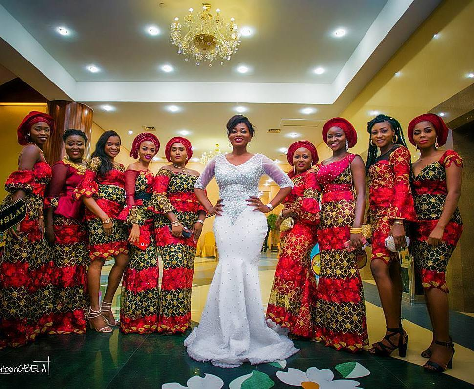 These Bride S Friends Asoebi Styles Are On Point A
