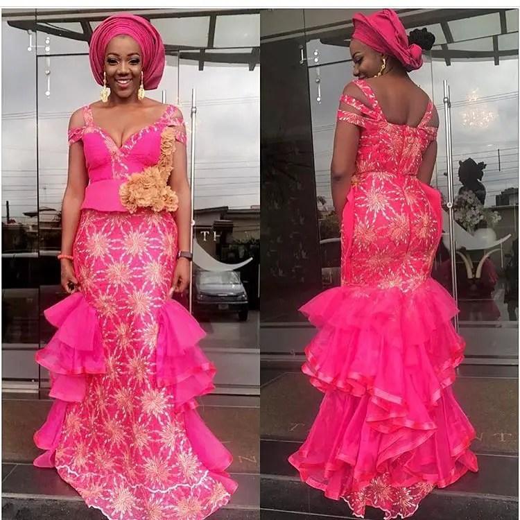 Exquisite Asoebi Styles