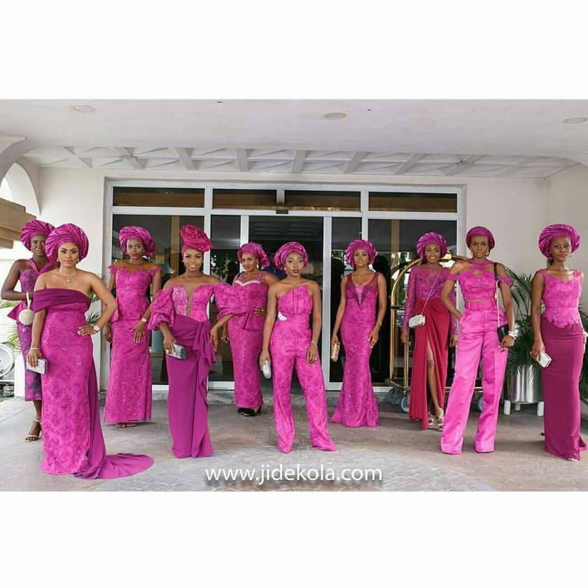 Peep These Glamsquad Asoebi Styles Ladies Part 2